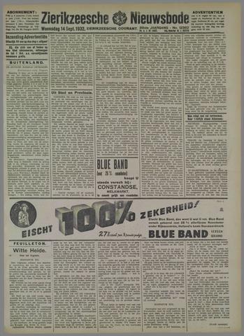 Zierikzeesche Nieuwsbode 1932-09-14