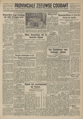 Provinciale Zeeuwse Courant 1948-08-26