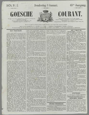 Goessche Courant 1878
