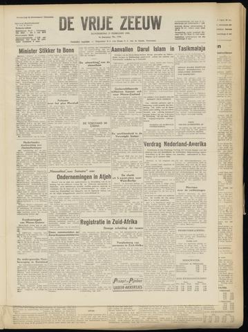 de Vrije Zeeuw 1950-02-23