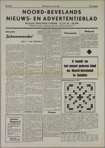 Noord-Bevelands Nieuws- en advertentieblad 1980-03-20