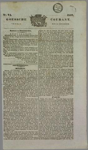 Goessche Courant 1837-09-15