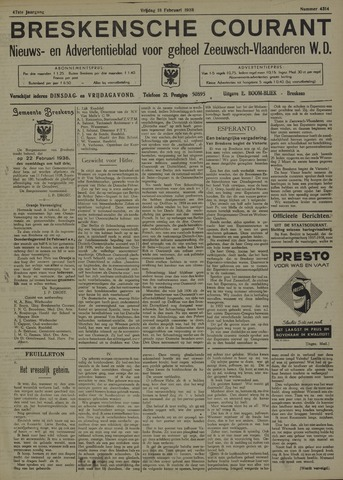 Breskensche Courant 1938-02-18
