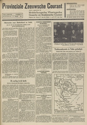 Provinciale Zeeuwse Courant 1941-03-12
