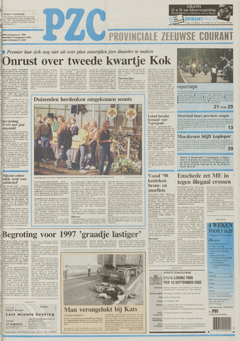 Provinciale Zeeuwse Courant 1996-08-17