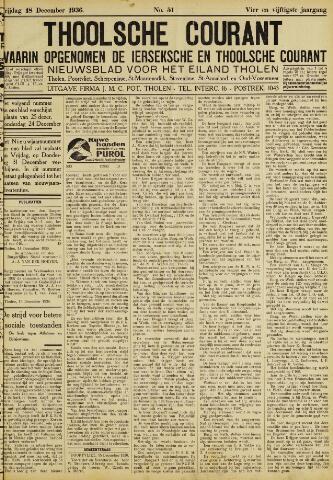 Ierseksche en Thoolsche Courant 1936-12-18