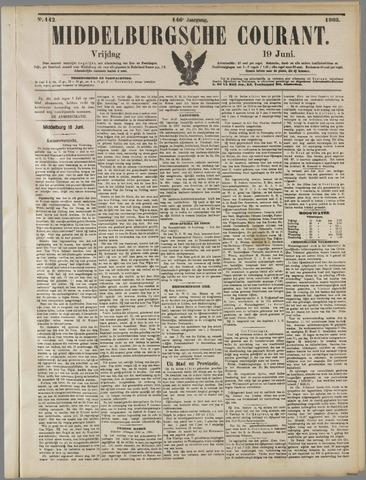 Middelburgsche Courant 1903-06-19