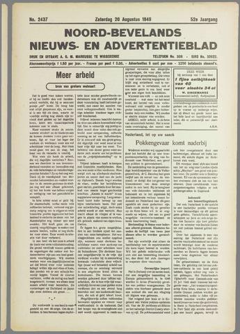 Noord-Bevelands Nieuws- en advertentieblad 1949-08-20