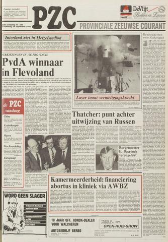 Provinciale Zeeuwse Courant 1985-09-19