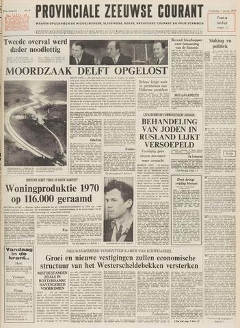 Provinciale Zeeuwse Courant 1971-01-07