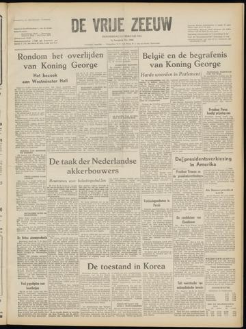 de Vrije Zeeuw 1952-02-14