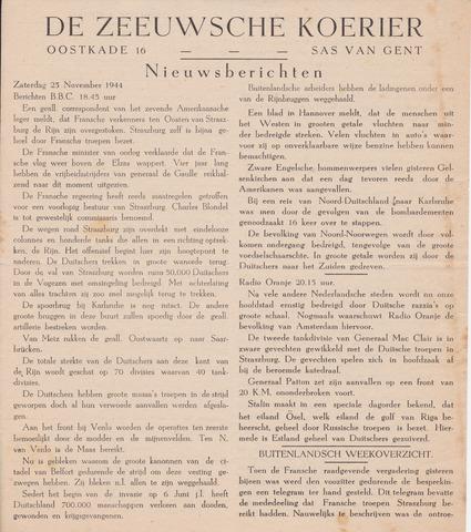 Zeeuwsche Koerier 1944