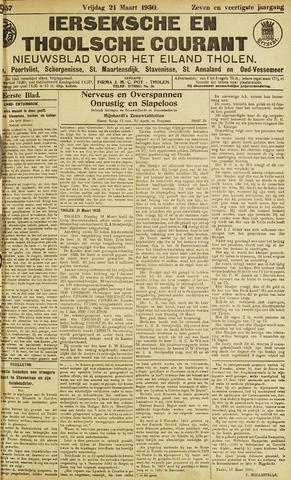 Ierseksche en Thoolsche Courant 1930-03-21