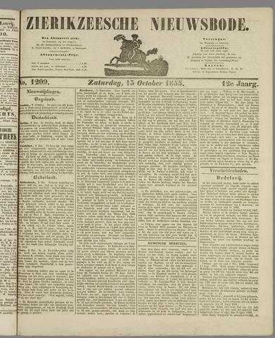 Zierikzeesche Nieuwsbode 1855-10-13