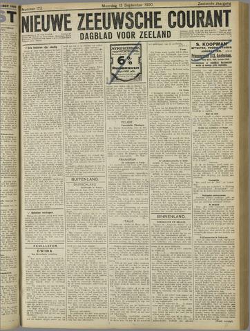Nieuwe Zeeuwsche Courant 1920-09-13