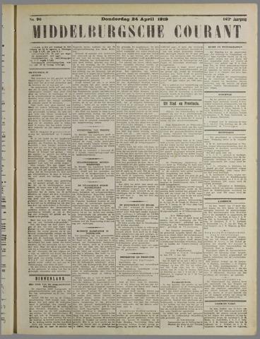 Middelburgsche Courant 1919-04-24