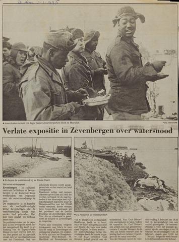Watersnood documentatie 1953 - kranten 1993-01-03