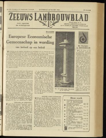 Zeeuwsch landbouwblad ... ZLM land- en tuinbouwblad 1960-03-26