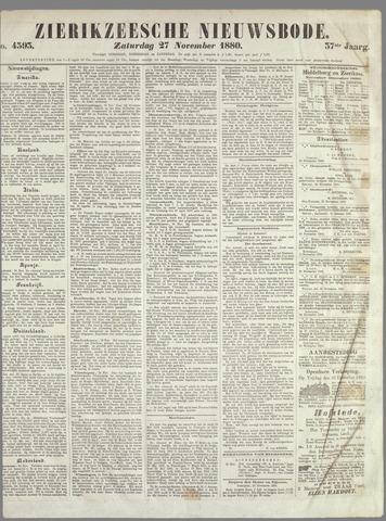 Zierikzeesche Nieuwsbode 1880-11-27