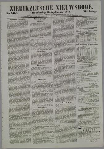 Zierikzeesche Nieuwsbode 1874-09-10