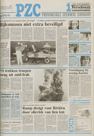 Provinciale Zeeuwse Courant 1991-04-15