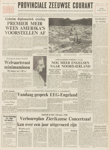 Provinciale Zeeuwse Courant 1970-06-30