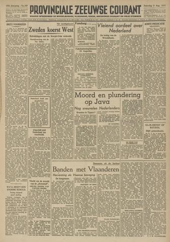 Provinciale Zeeuwse Courant 1947-08-09