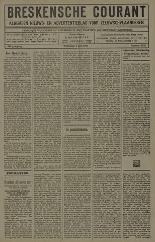 Breskensche Courant 1924-06-04