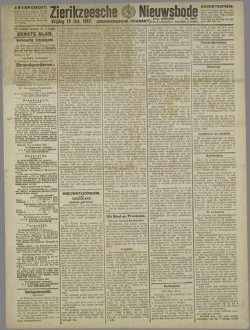 Zierikzeesche Nieuwsbode 1917-10-19