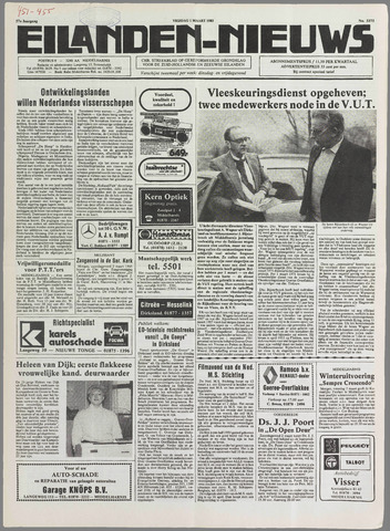 Eilanden-nieuws. Christelijk streekblad op gereformeerde grondslag 1985-03-01