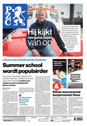 Provinciale Zeeuwse Courant 2017-07-18
