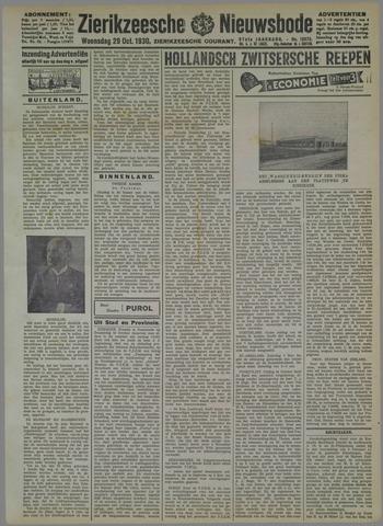 Zierikzeesche Nieuwsbode 1930-10-29