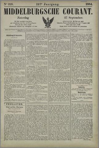 Middelburgsche Courant 1884-09-27