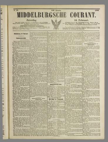 Middelburgsche Courant 1906-02-24