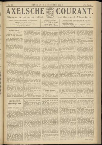 Axelsche Courant 1932-08-02