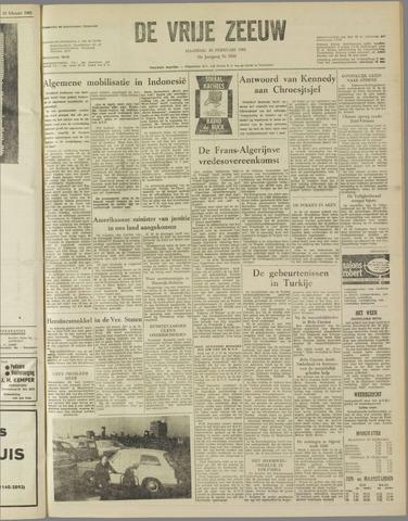 de Vrije Zeeuw 1962-02-26