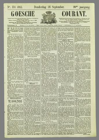 Goessche Courant 1912-09-26