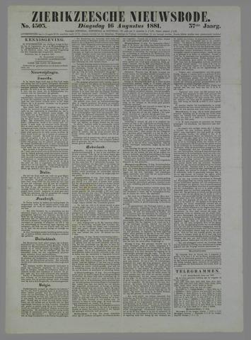 Zierikzeesche Nieuwsbode 1881-08-16