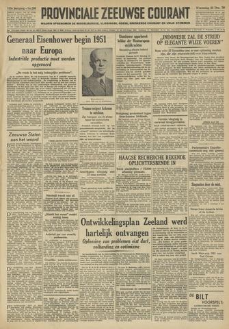 Provinciale Zeeuwse Courant 1950-12-20