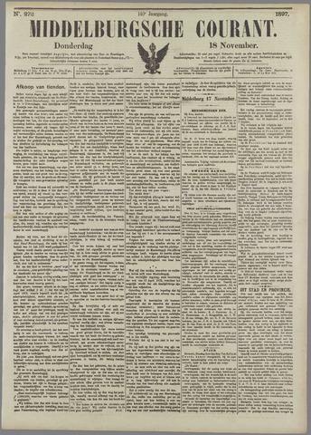 Middelburgsche Courant 1897-11-18