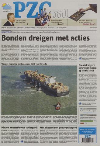 Provinciale Zeeuwse Courant 2011-09-20