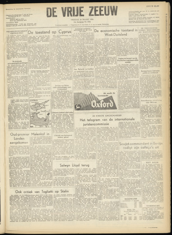 de Vrije Zeeuw 1956-03-16