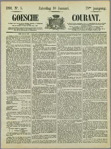 Goessche Courant 1891-01-10