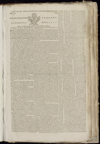 Middelburgsche Courant 1799-07-25