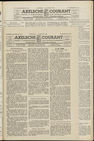 Axelsche Courant 1949-08-03