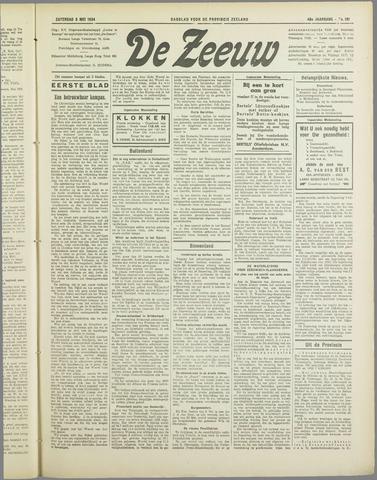 De Zeeuw. Christelijk-historisch nieuwsblad voor Zeeland 1934-05-05