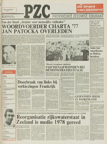 Provinciale Zeeuwse Courant 1977-03-14