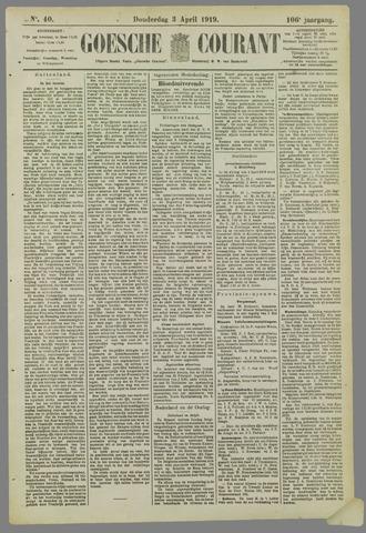 Goessche Courant 1919-04-03