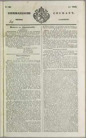 Zierikzeesche Courant 1844-08-02