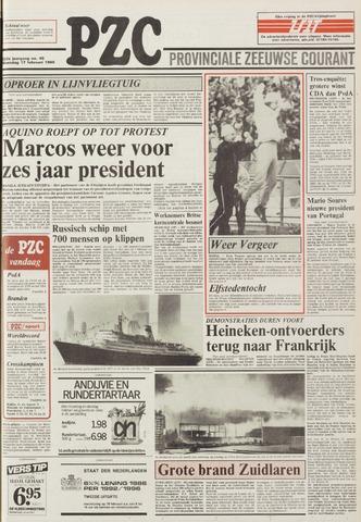 Provinciale Zeeuwse Courant 1986-02-17